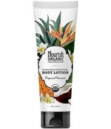 Nourish Organics Body Lotion Tropical Coconut
