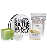 Buck Naked Soap Company Juniper & Spruce Holiday Gift Set