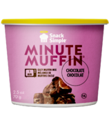 Snack Simple Chocolate Minute Muffin
