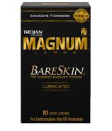 Trojan Magnum BareSkin Préservatifs en latex lubrifiés