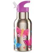 Crocodile Creek ECO Kids Stainless Steel Drinking Bottle Butterflies