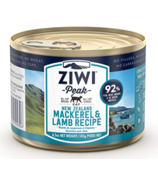 ZIWI Peak Canned Cat Food Mackerel & Lamb Recipe