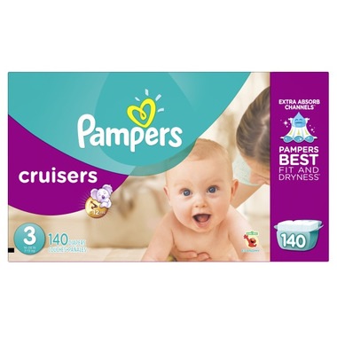 Pampers Cruisers Economy Pack