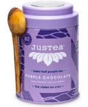JusTea Loose Leaf Purple Tea Purple Chocolate