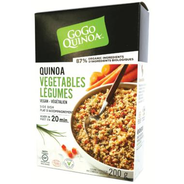 GoGo Quinoa Quinoa Vegetables Side Dish