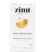 Zimt Chocolates Sweet Orange Nib'd Chocolate