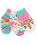 ZOOCCHINI Buddy Baby Sock Set Fiona Fawn