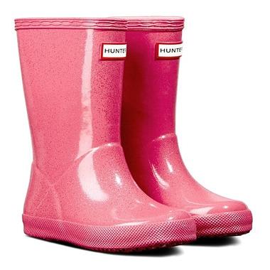 Hunter Boots Kids First Starcloud Rainboot Arcade Pink