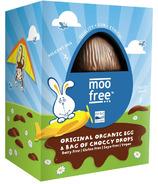 Moo Free Original Organic Egg & Bag of Choccy Eggs