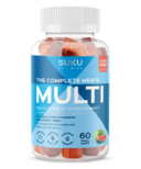 SUKU Vitamins The Complete Men's Multi Plus CoQ10 & Fibre