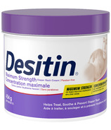 Desitin Diaper Rash Cream for Baby with Zinc Oxide Maximum Strength