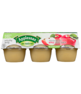 Applesnax Unsweetened Applesauce Cups