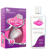 The DivaCup Model 1 & Wash Bundle