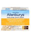 Allenburys Basic Soap with Colloidal Oatmeal & Coconut Oil 2 Pack