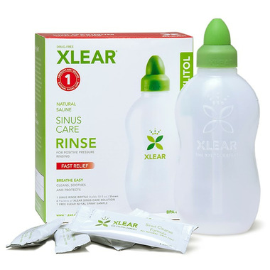 Xlear Sinus Care Rinse Bottle Kit
