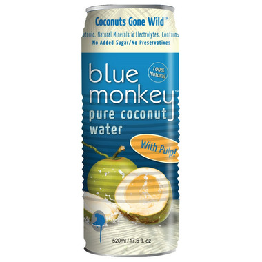 Blue Monkey Coconut Water with Pulp
