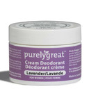 Purelygreat Cream Deodorant for Women Lavender