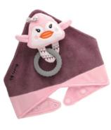 Buddy Bib 3-in-1 Sensory Teething Toy & Bib Penguin
