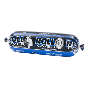 Rollover Semi-Moist Dog Food Roll Turkey Formula
