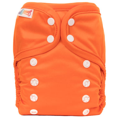 Bummis All-in-One Pure Diaper Orange