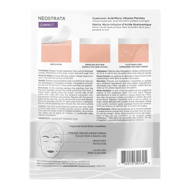 NEOSTRATA Hyaluronic Acid Micro Infusion Patches