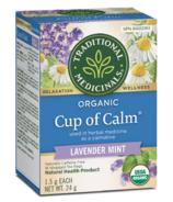Traditional Medicinals Organic Cup of Calm Tea Lavender Mint