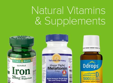 Natural Vitamins & Supplements