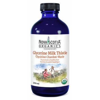Nova Scotia Organics Milk Thistle Glycerine Tincture