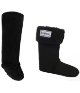 Stonz Rain Boot Liners Black