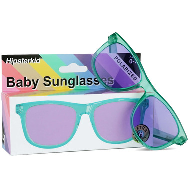 Hipsterkid Extra Fancy Sunglasses Aqua/Orchid
