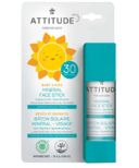 ATTITUDE Little Ones 100% Mineral Face Sunscreen Stick SPF30