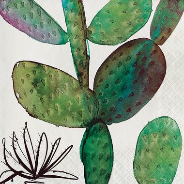 Elise Southwest Luncheon Napkin Cactus