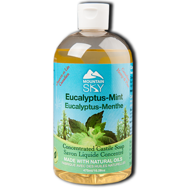 Mountain Sky Eucalyptus-Mint Castile Liquid Soap