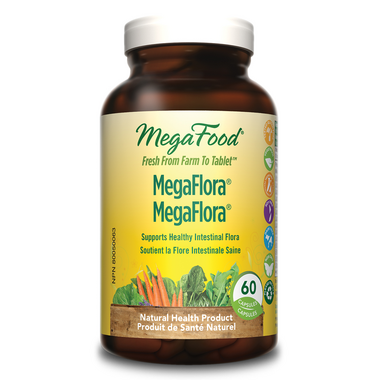 MegaFood MegaFlora Probiotic Supplement