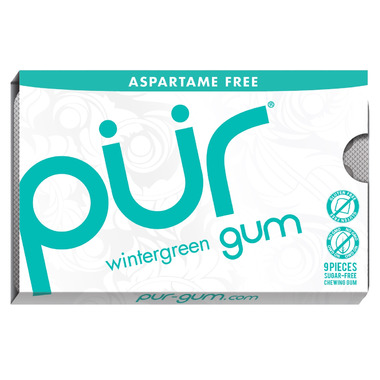 PUR Sugar-Free Gum Wintergreen