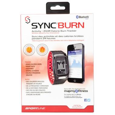 Sportline SYNC Burn Band Red