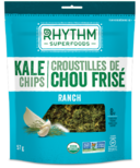 Rhythm Superfoods Ranch Organic Kale Chips
