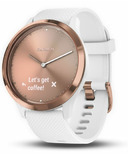 Garmin Vivomove HR Sport White With Rose Gold