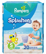 Couches de natation Pampers Splashers