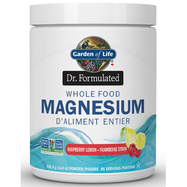 Garden of Life Dr Formulated Whole Food Magnesium Raspberry Lemon