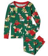 Ensemble pyjama pour enfants Hatley Green Woofing Christmas