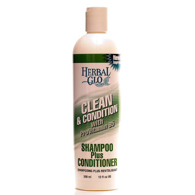 Herbal Glo Clean & Conditioner Shampoo Plus Conditioner