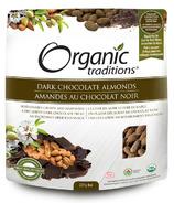 Organic Traditions Dark Chocolate Almonds