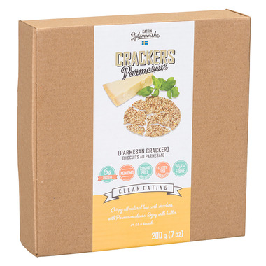 KZ Clean Eating Parmesan Crackers