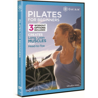 Gaiam Pilates For Beginners DVD With Jillian Hessel