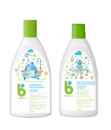 babyganics Fragrance Free Bubble Bath + Shampoo Bundle