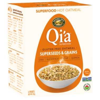 Nature\'s Path Qi\'a Gluten Free Oatmeal Superseeds & Grains