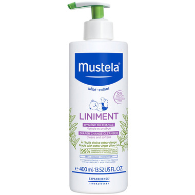 Mustela Liniment Fragrance Free Diaper Change Cleanser