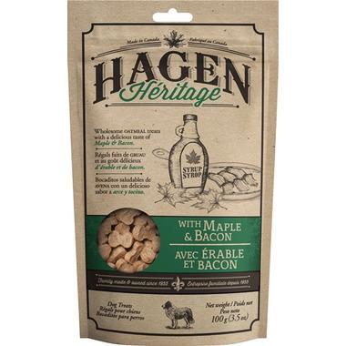 Hagen Heritage Oatmeal Dog Treats Maple Bacon