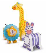 Melissa & Doug Safari Wooden Grasping Toys